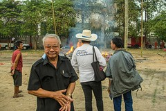 Cremation of Pra Artikanda Anujaro (Cairoic) Tags: chiang mai monk cremation thailand buddhist buddhism elephant street reportage burning death