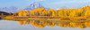 Fall At Oxbow Bend (Hank Christensen) Tags: usa natural landscape grandtetonsnationalpark northamerica nature water snakeriver outdoor panorama oxbowbend trees stock fallcolors outside grandtetons 31aspectratio mountains aspen unitedstates nationalpark reflection wyoming