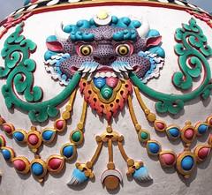 Bug Eyed Monster Green (Gypsy Cowboy) Tags: nepal kathmandu boudhanath
