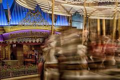Princess Carrousel Dreaming (Garry Rollins) Tags: princessfairytalehall princecharmingregalcarrousel carousel fantasyland magickingdom
