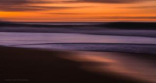 Waves of Orange & Purple