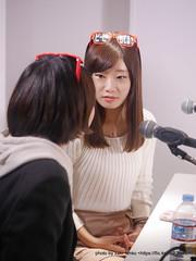 見つめ合うふたり (みの・さや) / 激アツ女塾@渋谷クロスFM