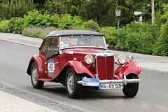 MG TD Roadster (1953) (Roger Wasley) Tags: mg td roadster 1953 arlberg classic car rally 2016 lech austrian alps austria europe