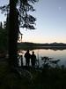 IMG_20160910_192708 (cyborgsuzy) Tags: sunrisesunset canoe caitlin cj lake
