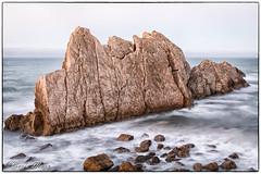 _MG_0351 (Borja Maza) Tags: cantabria paisaje landscape playadelaarnía arnía rocas longexposure largaexposición rock