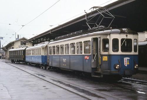 Trains du GoldenPass anciennement M.O.B.  (Suisse)