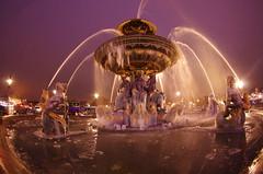 Paris Janvier 2017 - 13 une fontaine gelée Place de la Concorde (paspog) Tags: paris france fontaine brunnen fountain fontainegelée placedelaconcorde frozenfountain janvier january januar 2017 nuit nacht night