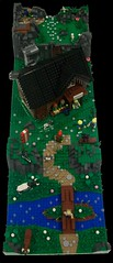 Seidnitzer Hütte_02 (TobyDe) Tags: lego alpen alps berghütte alpinehut wanderer hiker wandern hiking kuh cow bergziege mountaingoat ziege goat hund dog österreich austria höhle cave fluss river bergwiese wiese mountainmeadows meadow minifiguren minifigures legominifiguren legominifigures collectableminifigures skelett skeleton