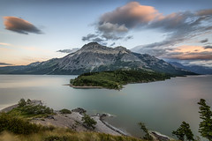 Waterton Lakes National Park (angie_1964) Tags: watertonlakes national park alberta canada lake sunrise sunset longexposure clouds mountains water nature landscape nikond800e outdoors outside explore
