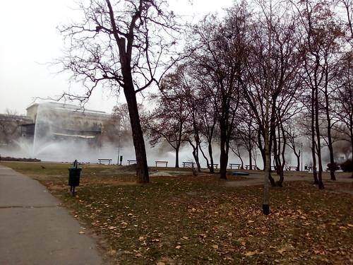 Praça com águas termais, Budapeste
