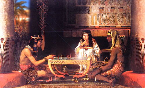 "Senet - Lujoso sistema de objetos lúdicos obsequio del dios Toht a la faraona Nefertari • <a style=""font-size:0.8em;"" href=""http://www.flickr.com/photos/30735181@N00/32369499662/"" target=""_blank"">View on Flickr</a>"