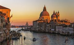 Venice at sunset (Fil.ippo) Tags: venezia venice santamariadellasalute canalgrande grandcanal sunset tramonto water filippo filippobianchi d7000