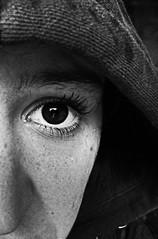 DSCF19155 (dvezzoli) Tags: bw bn blackandwhite biancoenero neroebianco whiteandblack best migliore colore color colour colours colors colori face faccia girl ragazza nose naso eye eyes occhio occhi sad triste why perché boh idunno feel sentire provare person people persona persone mascara makeup trucco silhouette line viso linee nei lentiggini