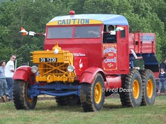 Scammell (39YZ30). (Fred Dean Jnr) Tags: innishannonsteamvintagerally scammell 39yz30 upton cork june2007 fossetts circus