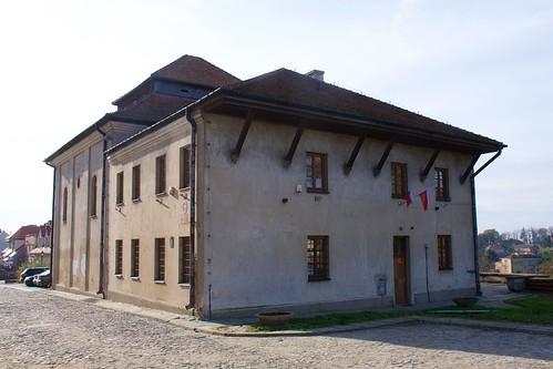 Synagoga w Sandomierzu od północnego wschodu