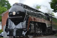 DSC_0302 (Andy961) Tags: delaplane virginia va railway railroad train norfolkwestern nw classj steam locomotive engine 484 611