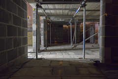 Gues who? (georgehuthart) Tags: canon eos5d canonimage canonshot canonphoto construction buildingsite scaffold scaffolding