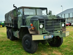 AM General M923 Cargo (xavnco2) Tags: show 6x6 truck army meeting cargo exposition lorry camion trucks normandie militaire arme eure lkw miltary autocarro raduno 2015 anciens amgeneral vhicules leneubourg bch m923 pontfire lesrtrosduplateau