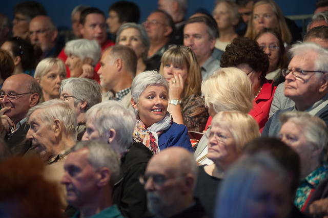 Audience enjoying Zoe Williams