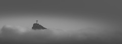 Over the Clouds -Cristo Redentor- (Rio de Janeiro, Brazil. Gustavo Thomas © 2015) (Gustavo Thomas) Tags: sky sculpture mountain blancoynegro monochrome brasil riodejaneiro clouds catholic christ religion cristoredentor christtheredeemer corcovado ciel cielo nubes nuages católico blancetnoir monocromático blaxkandwhite