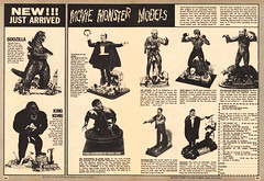 Movie Monster Models, 1969 ad (Tom Simpson) Tags: monster vintage advertising toy model ad models dracula advertisement godzilla frankenstein kingkong frankensteinsmonster wolfman phantomoftheopera themummy vintagead famousmonsters quasimodo gillman thecreaturefromtheblacklagoon thehunchbackofnotredame