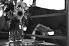 Livestock Essentials (MTSOfan) Tags: flowers bw cow summertime middletown comb greyscale agriculturalfair grangefair