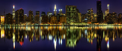 New York City (mudpig) Tags: nyc newyorkcity longexposure panorama reflection building night skyscraper river office highway cityscape apartment manhattan dramatic nopeople midtown hunterspoint esb unitednations eastriver empirestatebuilding trumptower chryslerbuilding elevated hdr metlifetower fdr kipsbay tudorcity midtowntunnel mudpig stevekelley citicorptower stevenkelley 432parkavenue