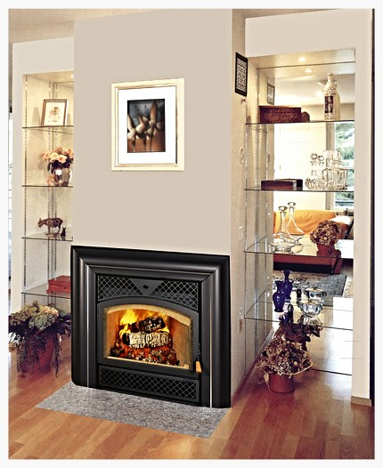 RSF Topaz wood burning fireplace