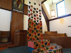 DSC04158 (Michael S in Seattle) Tags: sacredspace fabricart wallingfordumc sanctuaryart welcomesunday2015