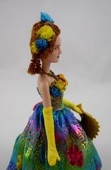 Cinderella Doll Set - Live Action - US Disney Store Purchase - Deboxed - Drisella - Standing - Midrange Left Side View (drj1828) Tags: us cinderella purchase disneystore fairygodmother 2015 11inch dollset deboxed drisella liveactionfilm disneyfilmcollection