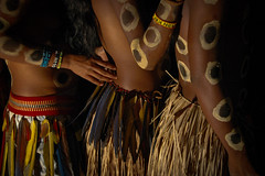 Bororo (guiraud_serge) Tags: brazil portrait brasil amazon indian tribe ethnic indien matogrosso indio labret brésil tribu amazonie amazone bororo forêttropicale ethnie kayapo kuikuro metuktire gorotire plateaulabial hautxingu parcduxingu sergeguiraud artducorps ornementcorporel