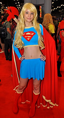 Saturday Supergirl Full NYCC 2015 (Mike Rogers Pix) Tags: new york black cat comic zombie mary nike supergirl flex marvel con ghostbusters nycc