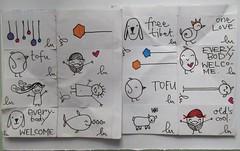 (lu.glue) Tags: street streetart art klein sticker handmade drawing linie small basel line piccolo creature linea lu petit ligne autocollant kreatur basle kleber basilea gezeichnet bâle dessiné chläber luglue