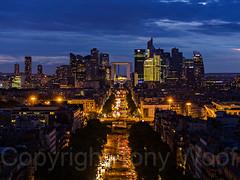Paris_270814_IMG_4980-a (Tony.Woof) Tags: paris night de la grande avenue defense etoile armee