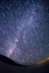Star Trail - Hateruma Island #2 (kobaken++) Tags: ocean light sea summer sky abstract black coral night canon eos crystal background wide wave fisheye 5d okinawa      markii  ishigaki milkyway   hateruma mark2      kobaken   polarie