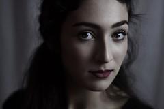 Nyx (SkylerBrown) Tags: portrait woman girl beautiful face dark eyes pretty gorgeous lips pale brunette browneyes jaclynmendoza