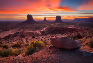 The 3 Brothers, Monument Valley