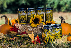 Oktoberfest Gemutlichkeit from Wiseacre Brewing - Memphis, TN (Konrad Dwojak) Tags: fall beer colors leaves pumpkin october tn spirit memphis tennessee oktoberfest alcohol brewery wiseacre fest gemutlichkeit
