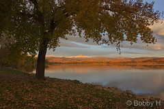 October 25, 2015 - A beautiful sunrise at Longmont's McIntosh Lake. (Bobby H)