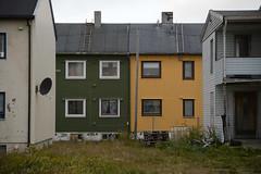 Vard houses (lumofisk) Tags: house building playground norway norge europa europe north norden norwegen haus maison gebude fassade spielplatz 86mm 0mmf0 nikondf