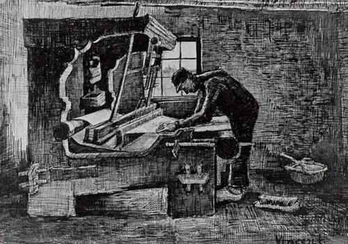 vangogh_weaver_standing_front_ loom_1884