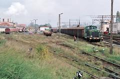 Loco SM30 969  |  Koscian  |  1997 (keithwilde152) Tags: industrial factory diesel outdoor tracks poland sugar 1997 railways locomotives pkp sm30 koscian