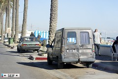 Opel Ascona + Renault express Tunisia 2015 (seifracing) Tags: rescue ascona europe traffic tunisia tunis transport voiture renault vehicles e vans trucks express van emergency services recovery tunisie opel tunesien 2015 seifracing