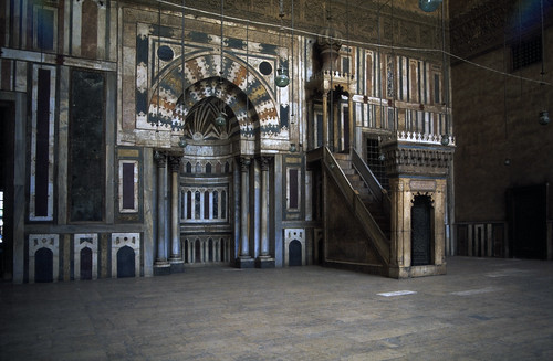 """Ägypten 1983 (12) Kairo: Sultan-Hasan-Moschee • <a style=""""font-size:0.8em;"""" href=""""http://www.flickr.com/photos/69570948@N04/22544806987/"""" target=""""_blank"""">Auf Flickr ansehen</a>"""