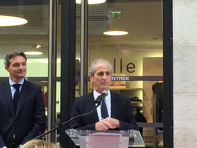 Inauguration du Monoprix de Toulon