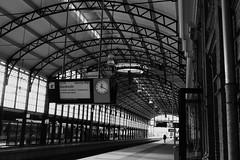 Commuting  [Den Haag Hollands Spoor] (RW-V) Tags: bw holland monochrome noiretblanc nederland thenetherlands denhaag nb trainstation sw commuting paysbas niederlande zw zuidholland lagare treinstation denhaaghs hollandsspoor 2000views 3000views 2500views 100faves 4000views 200faves 150faves canonefs1755mmf28isusm 80faves denhaaghollandsspoor 120faves 175faves canoneos60d dwwg