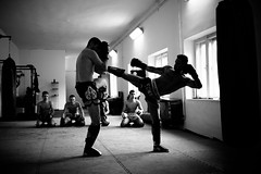 Thai boxers (Szell Gbor) Tags: white black sport training hard thai boxing muay