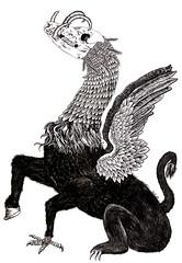Neo-quetzalcoatl (SICKDC) Tags: illustration digital ink photoshop diy god antiguo dios ilustración fanzine colmillo colmillozines
