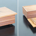 Smaller companion textured cedar box