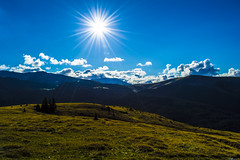 Transalpina - Romania 2015 (Vlad Baciu) Tags: road sun mountain nature clouds romania transalpina